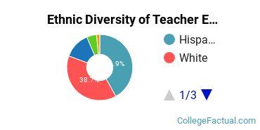 Ethnic Diversity of Teacher Education Grade Specific Majors at Brandman University