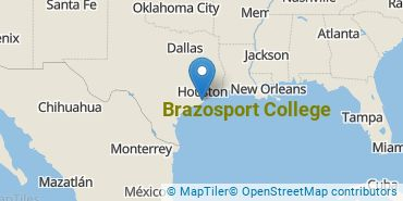 Location of Brazosport College