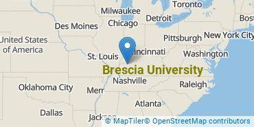 Location of Brescia University