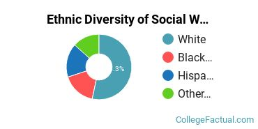Ethnic Diversity of Social Work Majors at Brescia University