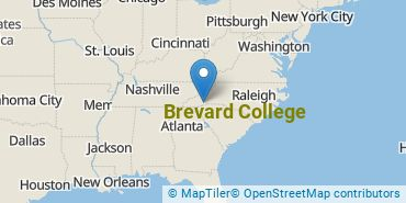 Location of Brevard College