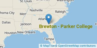 Location of Brewton - Parker College