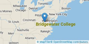 Location of Bridgewater College
