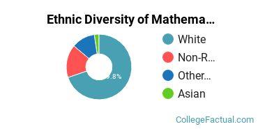 Ethnic Diversity of Mathematics & Statistics Majors at Brigham Young University - Idaho