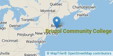 Location of Bristol Community College