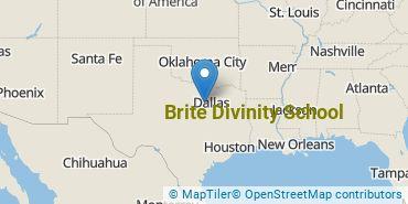 Location of Brite Divinity School