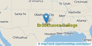Location of Brookhaven College