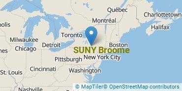 Location of SUNY Broome