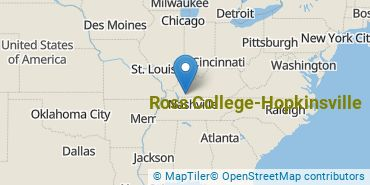 Location of Ross College-Hopkinsville