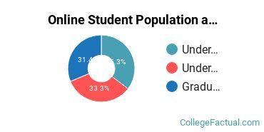 Online Student Population at Bryan College - Dayton
