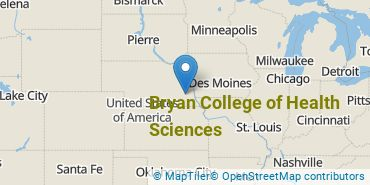 Location of Bryan College of Health Sciences