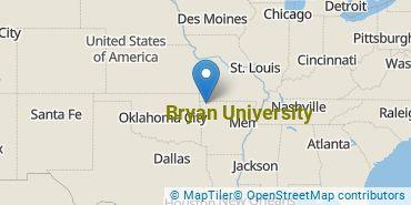 Location of Bryan University