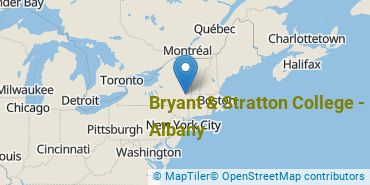 Location of Bryant & Stratton College - Albany
