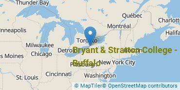 Location of Bryant & Stratton College - Buffalo