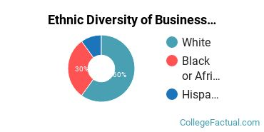 Ethnic Diversity of Business Support & Assistant Services Majors at Bryant & Stratton College - Online