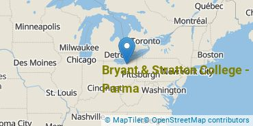 Location of Bryant & Stratton College - Parma