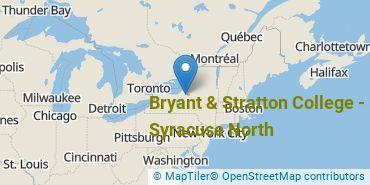 Location of Bryant & Stratton College - Syracuse North