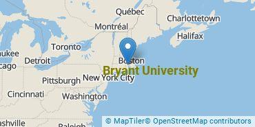 Location of Bryant University