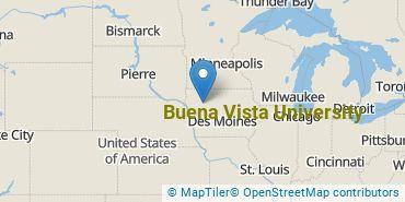 Location of Buena Vista University