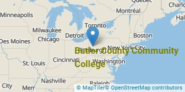 Location of Butler County Community College
