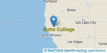 Location of Butte College