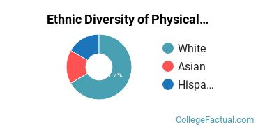 Ethnic Diversity of Physical Sciences Majors at California Baptist University