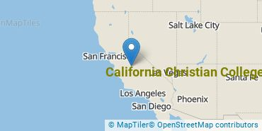 Location of California Christian College