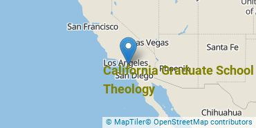 Location of California Graduate School of Theology