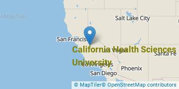 Location of California Health Sciences University