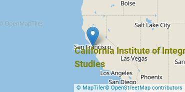 Location of California Institute of Integral Studies