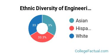 Ethnic Diversity of Engineering Physics Majors at California Institute of Technology