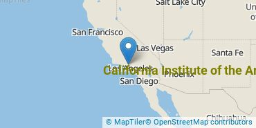 Location of California Institute of the Arts