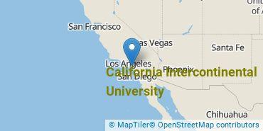 Location of California Intercontinental University