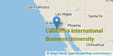 Location of California International Business University