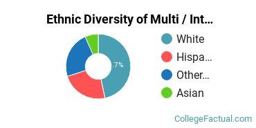 Ethnic Diversity of Multi / Interdisciplinary Studies Majors at California State University Maritime Academy
