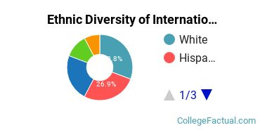 Ethnic Diversity of International Studies Majors at California State University Maritime Academy