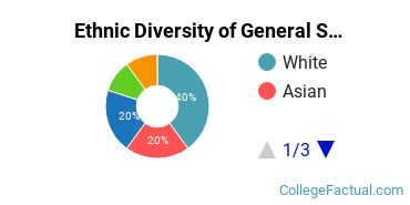 Ethnic Diversity of General Social Sciences Majors at California State University - Chico