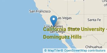 Location of California State University - Dominguez Hills