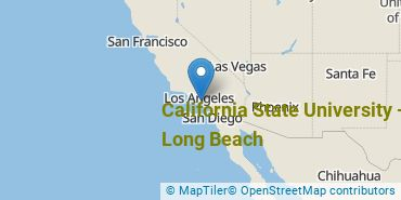 Location of California State University - Long Beach