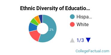 Ethnic Diversity of Education Majors at California State University - Los Angeles