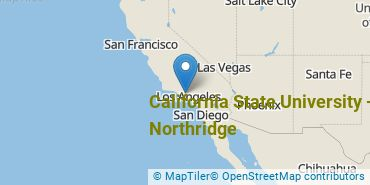 Location of California State University - Northridge