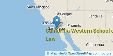 Location of California Western School of Law