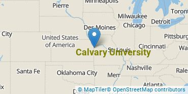 Location of Calvary University