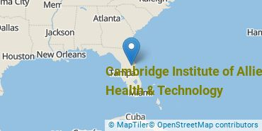Location of Cambridge Institute of Allied Health & Technology