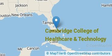 Location of Cambridge College of Healthcare & Technology