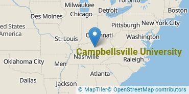 Location of Campbellsville University