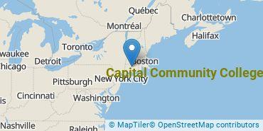 Location of Capital Community College