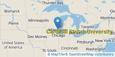 Location of Cardinal Stritch University