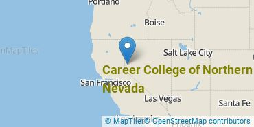 Location of Career College of Northern Nevada