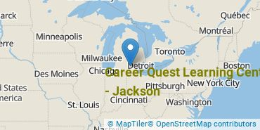 Location of Career Quest Learning Centers-Jackson
